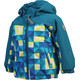 Color Kids Kurt Mini Padded Jacket Kids Deep Lagoon
